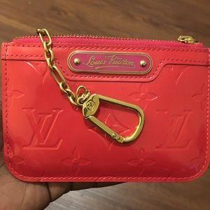 Louis Vuitton Pochette Cle NM Rose Pop
